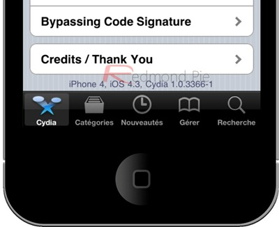 iOS 4 3 GM Jailbroken Already Using PwnageTool  Here's A Complete